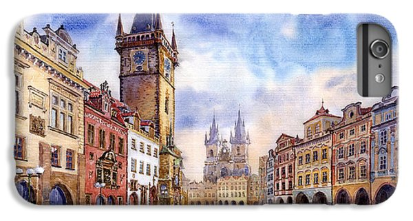Town iPhone 6s Plus Case - Prague Old Town Square by Yuriy Shevchuk