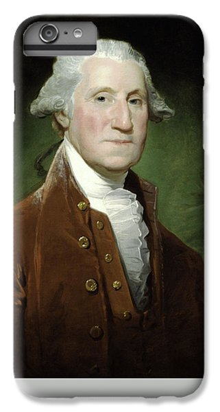 George Washington iPhone 6s Plus Case - President George Washington by War Is Hell Store
