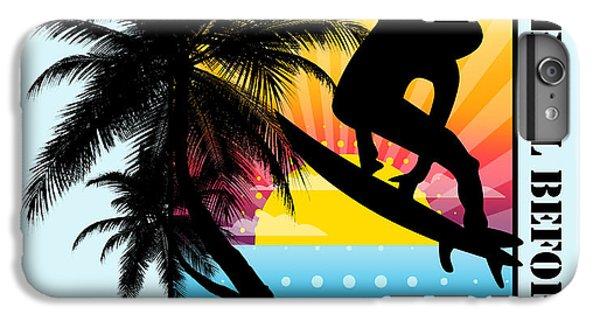 Venice Beach iPhone 6s Plus Case - Surfboard by Mark Ashkenazi