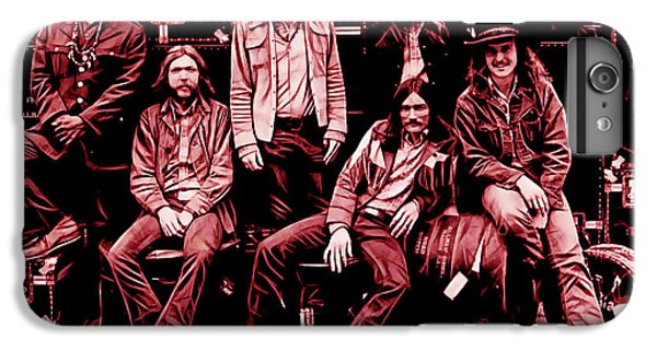The Allman Brothers Collection IPhone 6s Plus Case by Marvin Blaine