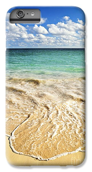 Beach iPhone 6s Plus Case - Tropical Beach  by Elena Elisseeva
