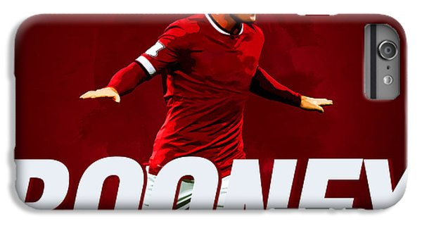 Wayne Rooney IPhone 6s Plus Case by Semih Yurdabak