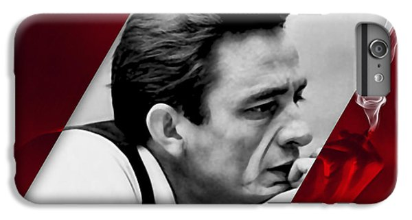 Johnny Cash Collection IPhone 6s Plus Case by Marvin Blaine