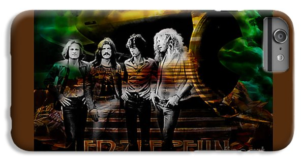 Led Zeppelin Collection IPhone 6s Plus Case by Marvin Blaine