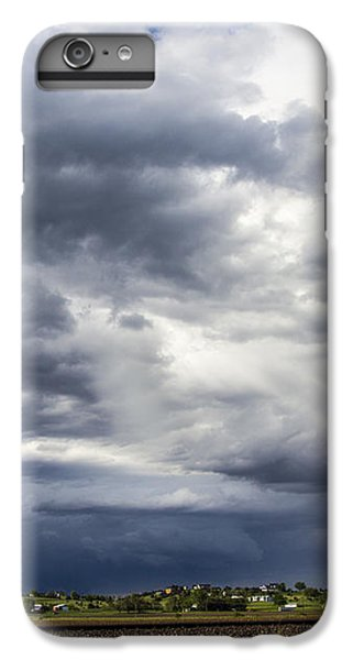 Nebraskasc iPhone 6s Plus Case - Afternoon Nebraska Thunderstorm by NebraskaSC