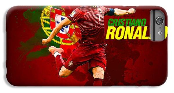 Cristiano Ronaldo IPhone 6s Plus Case by Semih Yurdabak