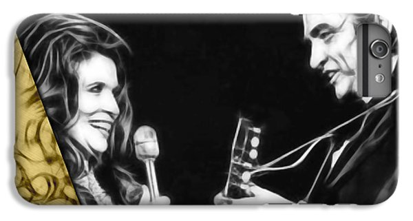 June Carter And Johnny Cash Collection IPhone 6s Plus Case by Marvin Blaine