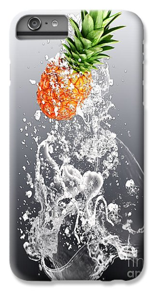 Pineapple Splash IPhone 6s Plus Case by Marvin Blaine
