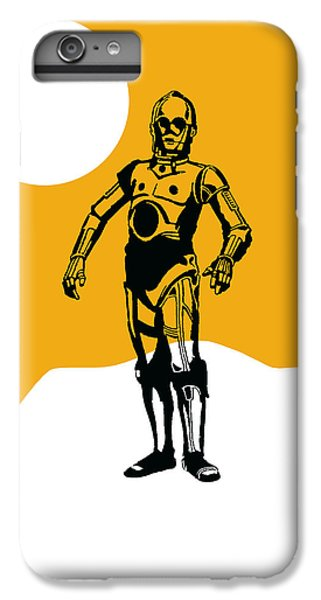 Star Wars C-3po Collection IPhone 6s Plus Case
