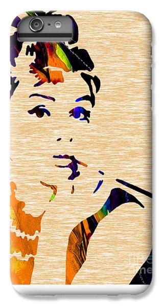 Audrey Hepburn Collection IPhone 6s Plus Case by Marvin Blaine
