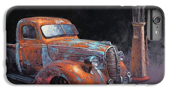 Truck iPhone 6s Plus Case - 38 Fat Fender Ford by Cody DeLong