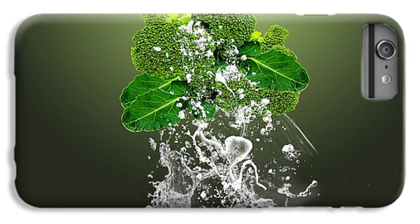 Broccoli Splash IPhone 6s Plus Case