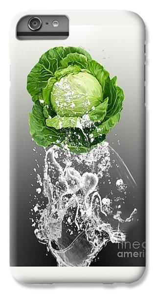 Cabbage Splash IPhone 6s Plus Case by Marvin Blaine