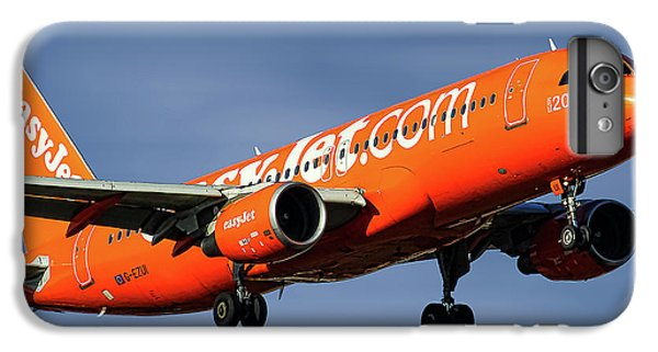 Jet iPhone 6s Plus Case - Easyjet 200th Airbus Livery Airbus A320-214 by Smart Aviation