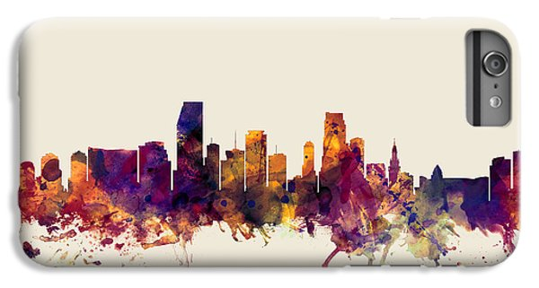 Miami Florida Skyline IPhone 6s Plus Case