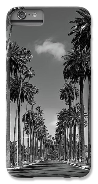 Beverly Hills iPhone 6s Plus Case - Palms Of Beverly Hills by Mountain Dreams