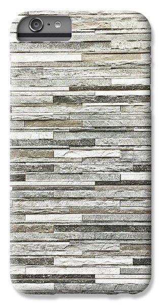 Stone Tiles IPhone 6s Plus Case by Tom Gowanlock