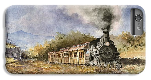 Train iPhone 6s Plus Case - 481 From Durango by Sam Sidders