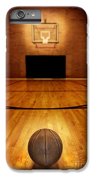 Basketball And Basketball Court IPhone 6s Plus Case by Lane Erickson