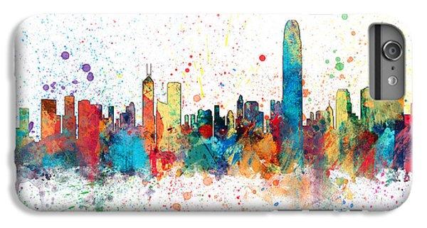 Hong Kong Skyline IPhone 6s Plus Case by Michael Tompsett