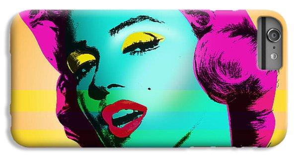 Marilyn Monroe IPhone 6s Plus Case by Mark Ashkenazi
