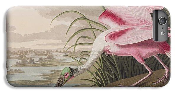 Roseate Spoonbill IPhone 6s Plus Case by John James Audubon