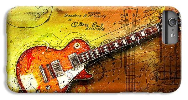Van Halen iPhone 6s Plus Case - 55 Sunburst by Gary Bodnar