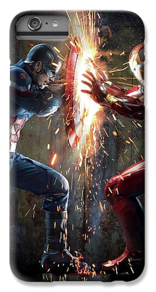 Captain America Civil War 2016 IPhone 6s Plus Case