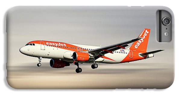 Jet iPhone 6s Plus Case - Easyjet Airbus A320-214 by Smart Aviation