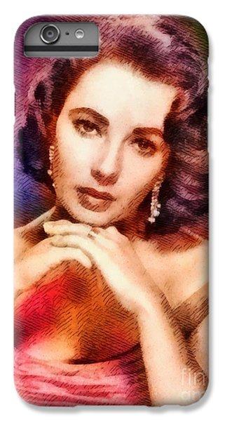 Elizabeth Taylor, Vintage Hollywood Legend IPhone 6s Plus Case by John Springfield