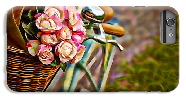 Flower Bike Collection IPhone 6s Plus Case by Marvin Blaine