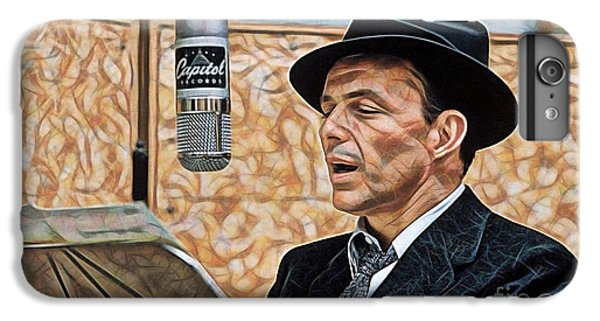 Frank Sinatra Collection IPhone 6s Plus Case by Marvin Blaine