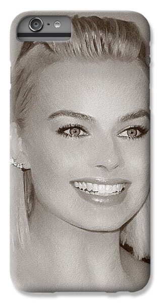 Hollywood Star Margot Robbie IPhone 6s Plus Case by Best Actors