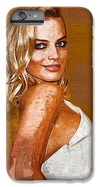 Margot Robbie Art IPhone 6s Plus Case