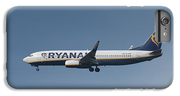 Jet iPhone 6s Plus Case - Ryanair Boeing 737-8as  by Smart Aviation