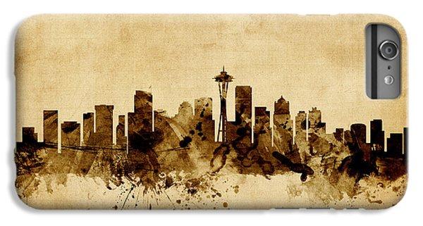 Seattle Washington Skyline IPhone 6s Plus Case by Michael Tompsett