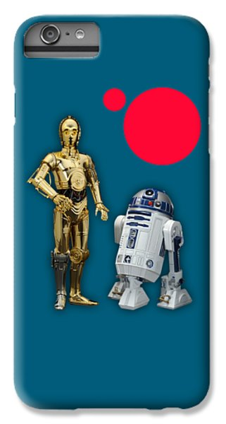 Star Wars C3po And R2d2 Collection IPhone 6s Plus Case by Marvin Blaine
