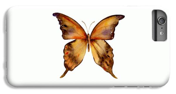7 Yellow Gorgon Butterfly IPhone 6s Plus Case by Amy Kirkpatrick
