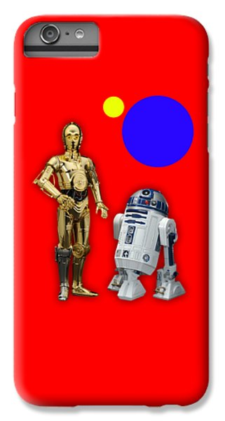 Star Wars C3po And R2d2 Collection IPhone 6s Plus Case