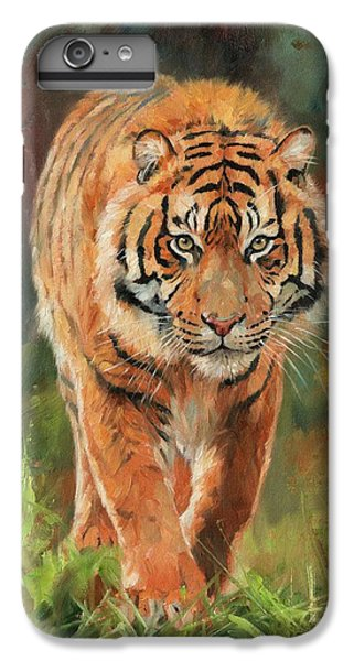 Amur Tiger IPhone 6s Plus Case by David Stribbling