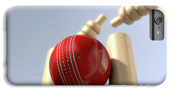 Cricket Ball Hitting Wickets IPhone 6s Plus Case