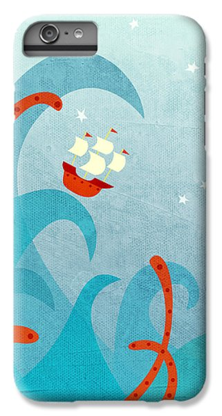 Boat iPhone 6s Plus Case - A Bad Day For Sailors by Nic Squirrell