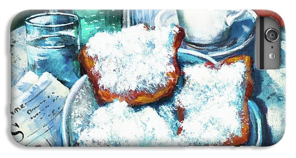 Food And Beverage iPhone 6s Plus Case - A Beignet Morning by Dianne Parks