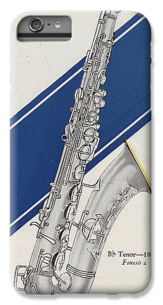 A Charles Gerard Conn Bb Tenor IPhone 6s Plus Case