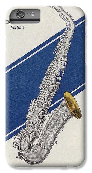 A Charles Gerard Conn Eb Alto Saxophone IPhone 6s Plus Case by American School