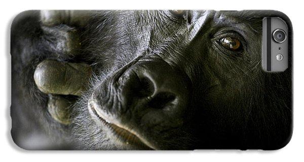 Gorilla iPhone 6s Plus Case - A Close Up Portrait Of A Mountain by Michael Poliza