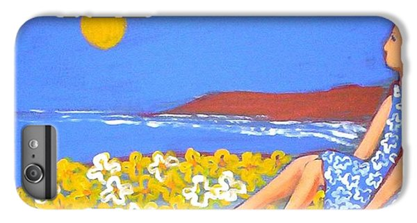 IPhone 6s Plus Case featuring the painting A Quiet Place by Winsome Gunning