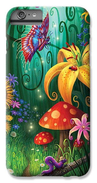 Flower Fairy iPhone 6s Plus Case - A Secret Place by Philip Straub