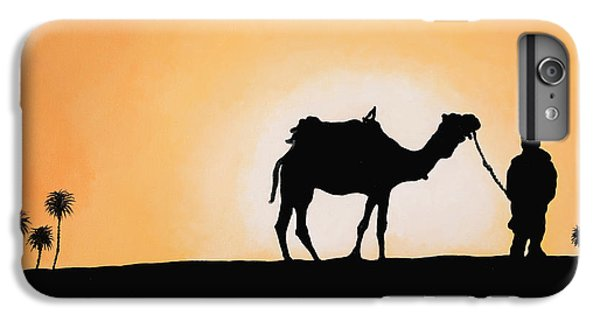 Camel iPhone 6s Plus Case - A Spasso Col Cammello by Guido Borelli