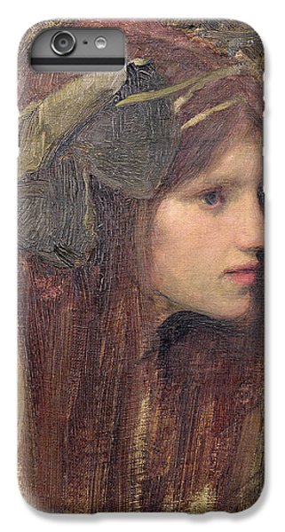Portraits iPhone 6s Plus Case - A Study For A Naiad by John William Waterhouse